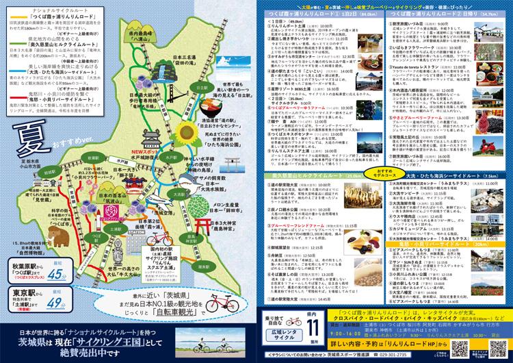 茨城サイクリングマップ